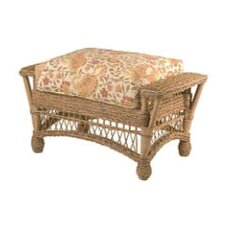 Cottage Ottoman with Cushion
