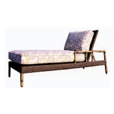 South Terrace Chaise Lounge with Cushion