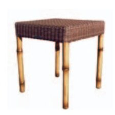 South Terrace Bunching Table with Woven Top