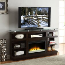 "Novella 65"" TV Stand with Electric Fireplace"