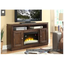 """Opus 65"""" TV Stand with Electric Fireplace"""