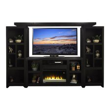 "Skyline 62"" TV Stand with Electric Fireplace"