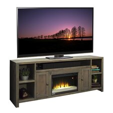 "Joshua Creek 84"" TV Stand with Electric Fireplace"