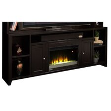 "Urban Loft 84"" TV Stand with Electric Fireplace"