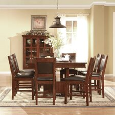 <strong>Legends Furniture</strong> Alpine Lodge 9 Piece Dining Set