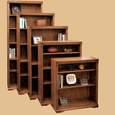 Scottsdale Oak Bookcase with 1 Fixed and 4 Adjustable Shelves