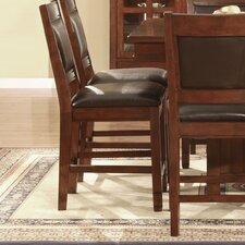 "Alpine Lodge 24"" Counter Height Bar Stool in Cherry"
