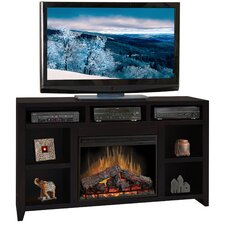 "Urban Loft 62"" TV Stand with Electric LED Fireplace"