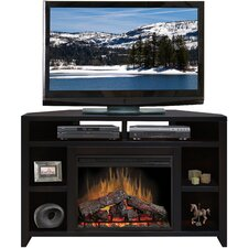 "Urban Loft 56"" TV Stand with Electric Fireplace"