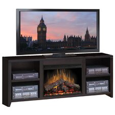 "Urban Loft 76"" TV Stand with Electric Fireplace"