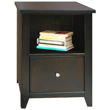 Urban Loft 1 Drawer File Cabinet