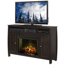 "<strong>Legends Furniture</strong> Curve 63"" TV Stand with Electric Fireplace"