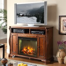 "<strong>Legends Furniture</strong> Cambridge 62"" TV Stand with Electric Fireplace"
