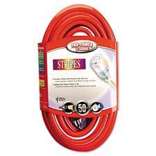 Stripes 50' Extension Cord