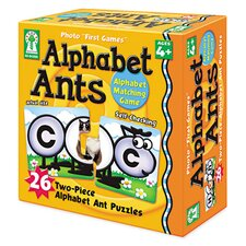 Alphabet Ants Photo First Games