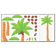Palm Tree Bulletin Board Set
