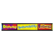 <strong>Trend</strong> Character Education Bolder Border (Set of 11)