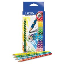 Groove Slim Colored Pencils (Pack of 12)
