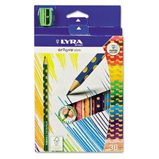 <strong>Lyra</strong> Groove Slim Colored Pencils (Pack of 36)