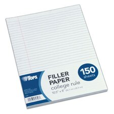 16 lbs College Rule Filler Paper (Set of 150)