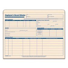 Manila Employee Record Master File (Set of 100)