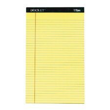 "60 pt. 8.50"" x 14"" Docket Legal Rule Legal Pad (Set of 18)"
