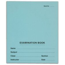 Second Nature 8 Leaves Exam Book (Set of 500)