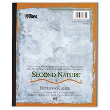 Second Nature College Ruled Wireless Notebook (Set of 24)