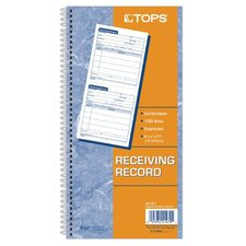 2 Part Carbonless Receiving Record Book (Set of 30)