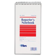 Gregg Rule Reporter's Notebook (Set of 144)