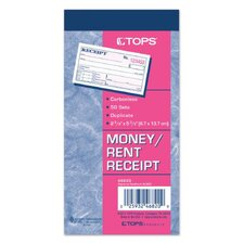 <strong>Tops</strong> 2 Part Carbonless Money Receipt Book (Set of 200)