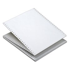 1 Part Heavy Weight Letter Trim Margin Computer Plain Paper (Set of 2200)