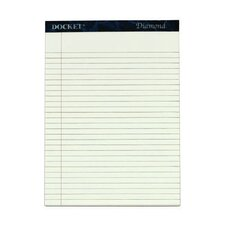 60 pt. Docket Diamond Premium Stationery Tablet (Set of 10)