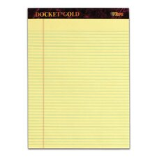 60 pt. Docket Gold Narrow Rule Pad (Set of 36)