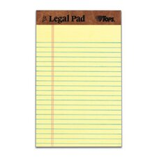 30 pt. Perforated Jr. Legal Rule Legal Pad (Set of 30)
