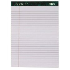 60 pt. Docket Legal Rule Pad (Set of 18)