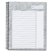 60 pt. Docket Gold Planning Format Notebook (Set of 12)