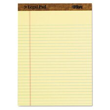 Legal Pad Legal Rule Perforated Pad (3 Pack)