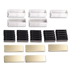 Name Badge Bulk 50 Piece Set