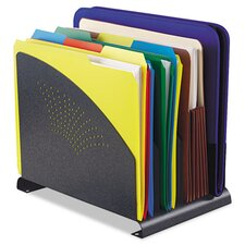 4-Compartment Vertical File Organizer