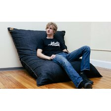 <strong>Jaxx</strong> Pillowsaxx Large Denim Bean Bag Lounger