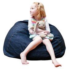 Denim Club Jr. Bean Bag Chair for Kids