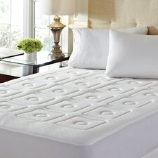 "<strong>Europeutic</strong> 4-Zone 1"" Memory Foam Mattress Enhancer"