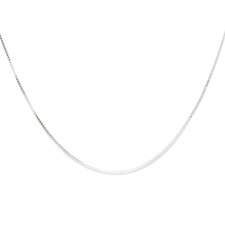 Sterling Silver Box Chain (0.7 mm)