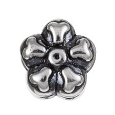 Signature Moments Sterling Silver Daisy Bead