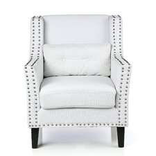 Nailhead Trimmed Club Chair