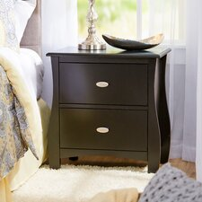Lodi 2-Drawer Nightstand