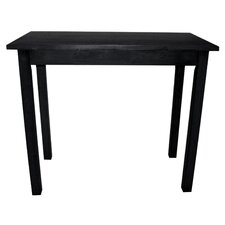 Tavern Pub Table in Antique Black