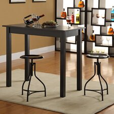 <strong>Carolina Cottage</strong> Logan 3 Piece Counter Height Pub Table Set