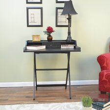 Ant. Folding Braxton Desk with Drawer
